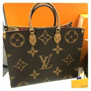 Authentic Louis Vuitton On The Go Tote Brand New